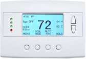 Schlage Trane Z-Wave Enabled Remote Energy Management Thermostat TZEMT400AB32MAA