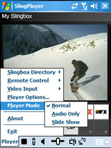 Slingbox PDA Phone Media Player